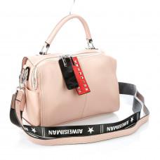 G5131 (BB) pink Barcelo Biagi женская кожаная сумка