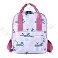 Рюкзак Молодежный Розовый с медведем XST-003
