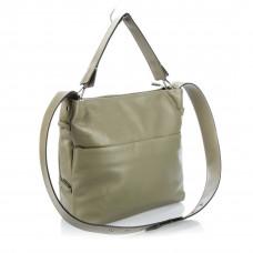 Q8009 (BB) green Barcelo Biagi женская кожаная сумка
