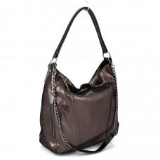 Y8412 (BB) bronze Barcelo Biagi женская замшевая сумка casual