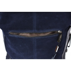 10196A-TA navy Barcelo Biagi женская замшевая сумка в стиле casual