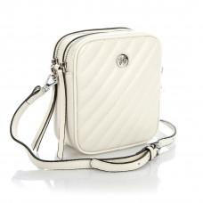 6187 (BB) white Barcelo Biagi женская кожаная сумка