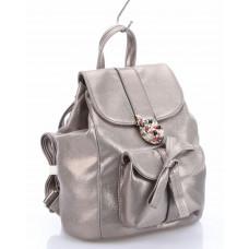 Y8441A (BB) grey Barcelo Biagi женский текстильный рюкзак