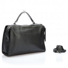 G5129-A (BB) black Barcelo Biagi женская кожаная сумка деловая