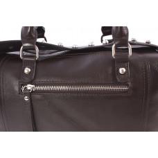 9110 (BB) Barcelo Biagi женская кожаная сумка-тоут коричневый