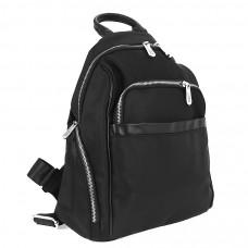 8511 Чёрный, Barcelo Biagi женский рюкзак текстильный