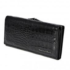 K2-1011 black Barcelo Biagi женский кожаный кошелёк