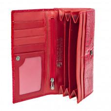 K2-1011 red Barcelo Biagi женский кожаный кошелёк