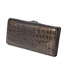 K2-1011 coffee Barcelo Biagi женский кожаный кошелёк