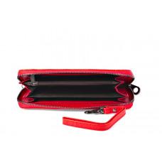 420923 red Barcelo Biagi женский кожаный кошелёк