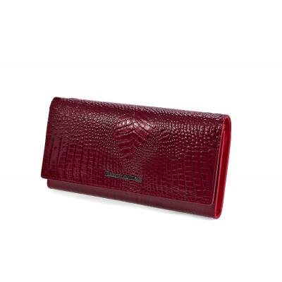 50512 red Barcelo Biagi женский кожаный кошелёк