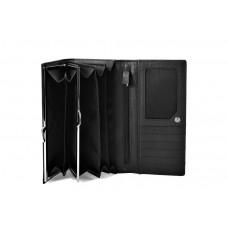 50512 black Barcelo Biagi женский кожаный кошелёк