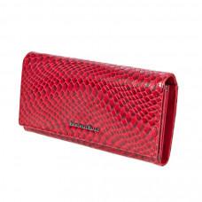 50513 red Barcelo Biagi женский кожаный кошелёк