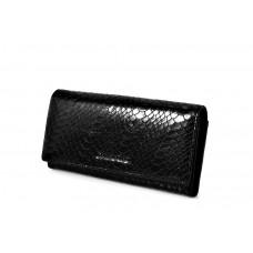 50513 black Barcelo Biagi женский кожаный кошелёк