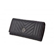 GM337-2G black Barcelo Biagi женский кожаный кошелёк