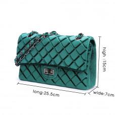 Женская кожаная сумка MIRONPAN 8371 цвет Зеленый