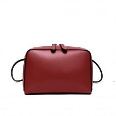 Женская сумка из натуральной кожи MIRONPAN 80651 цвет Бордовый