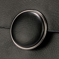 Сумка кросс боди кожаная женская MIRONPAN 6802 цвет Черная