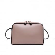 Женская сумка из натуральной кожи MIRONPAN 80651 цвет Пудра