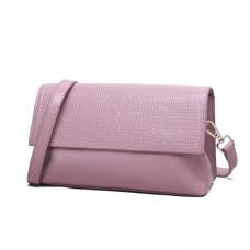 Женская сумка из натуральной кожи MIRONPAN 16358 цвет Розовый