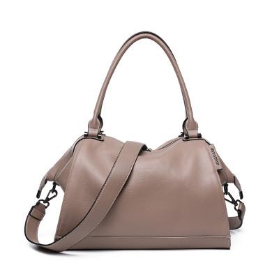 Женская сумка из натуральной кожи MIRONPAN 776217 цвет Пудра