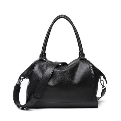 Женская кожаная сумка MIRONPAN 776217 цвет Черный