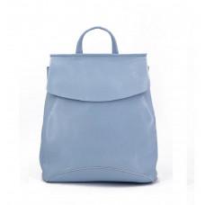 Женский кожаный рюкзак MIRONPAN 9004 цвет Синий пепел