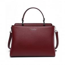 Женская сумка из натуральной кожи MIRONPAN 776202 цвет Бордовый
