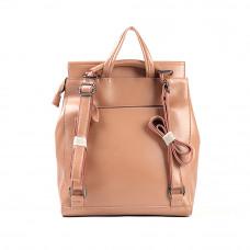 Женский кожаный рюкзак MIRONPAN 9004 цвет Пудра
