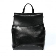Женский кожаный рюкзак MIRONPAN 9004 цвет Черный