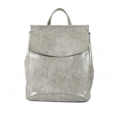 Женский кожаный рюкзак MIRONPAN 9004 цвет Серый