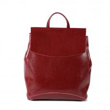 Женский кожаный рюкзак MIRONPAN 9004 цвет Бордовый
