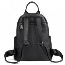 Сумка рюкзак женская из натуральной кожи MIRONPAN 81891 цвет Черный