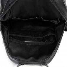 Женский кожаный рюкзак MIRONPAN 81591 цвет Черный