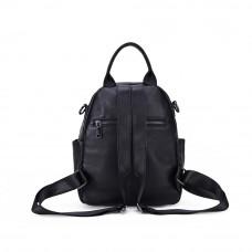 Рюкзак кожаный MIRONPAN 91661 цвет Черный