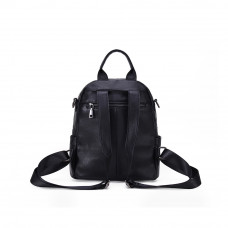 Рюкзак кожаный MIRONPAN 69031 цвет Черный