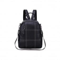 Рюкзак кожаный MIRONPAN 68872 цвет Черный