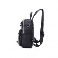 Рюкзак кожаный MIRONPAN 68991 цвет Черный