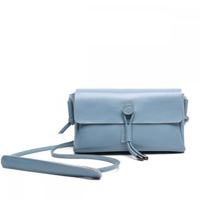 Небольшая сумка через плечо женская MIRONPAN 16020 цвет Синий пепел