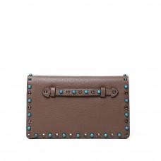 Женская кожаная сумка MIRONPAN 80223 цвет Коричневый