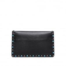 Женская сумка из натуральной кожи MIRONPAN 80223 цвет Черный
