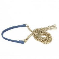 Женская кожаная сумка MIRONPAN 1601 цвет Синий