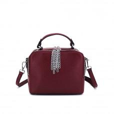 Женская сумка из натуральной кожи MIRONPAN 181209 цвет Бордовый