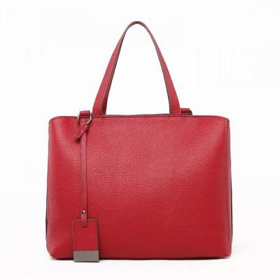 Женская кожаная сумка MIRONPAN 9024 цвет Красный
