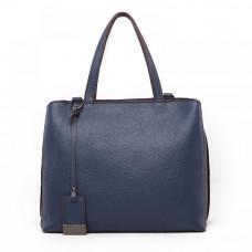 Женская кожаная сумка MIRONPAN 9024 цвет Темно-синий