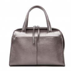 Женская кожаная сумка MIRONPAN Серебро