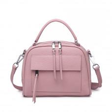 Женская кожаная сумка MIRONPAN Розовый