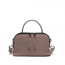 Женская кожаная сумка MIRONPAN Бежевый
