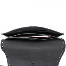 Женская сумка из натуральной кожи MIRONPAN 80223-1 цвет Черный