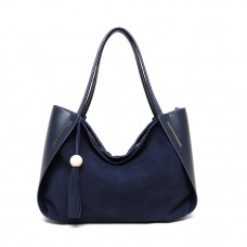 Женская кожаная сумка MIRONPAN Темно-синий